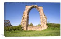 Dale Abbey Arch, Canvas Print
