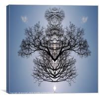 Tree pattern, Canvas Print