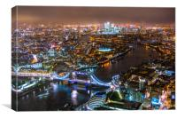 Views from The Shard, Canvas Print