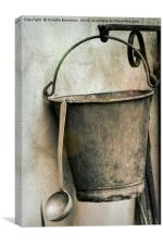 old pots and pans, Canvas Print