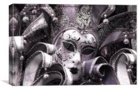 carnival mask, Canvas Print