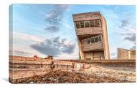 Rossall Point HDR, Canvas Print