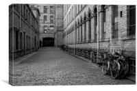 Salts Mill, Saltaire, West Yorkshire. , Canvas Print