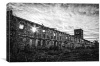 Abney Mill Anderson SC, Canvas Print