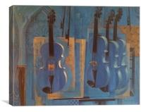 Violins, Canvas Print