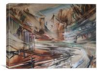 Abstract modern art, Canvas Print