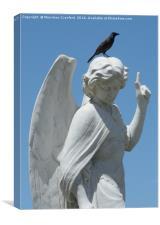 Cemetery Angel, Canvas Print