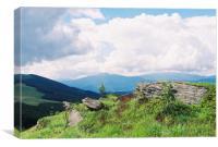 Carpatian Mountains, Canvas Print