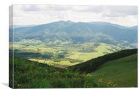 Carpatian Mountains 3, Canvas Print