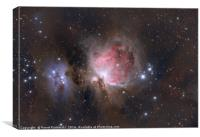 Great Nebula In Orion, Canvas Print