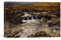 Fairy Pools Isle of Skye, Canvas Print