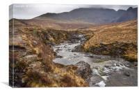 Scottish mountain walk, Canvas Print