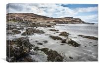 Tarskavaig Bay Skye Scotland, Canvas Print
