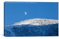 Winter mountain landscape, Tatry Mountains, Poland, Canvas Print