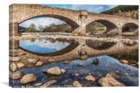 Ballater Bridge, Canvas Print