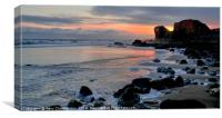 Sunrise at Trow Point, Canvas Print