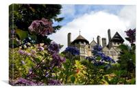 Cragside House and Gardens, Canvas Print