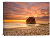 Sunrise at Marsden, Canvas Print
