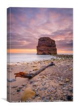 Marsden Rock Sunrise, Canvas Print
