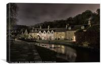 Castle Combe Village, Canvas Print