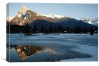 Mountain landscape, Canvas Print
