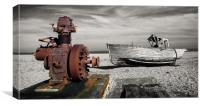 Winching Boats No More, Canvas Print