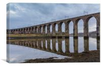 Berwick-upon-Tweed Railway Viaduct, Canvas Print