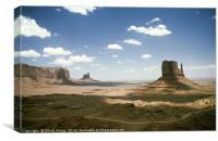 Monument Valley Utah, Canvas Print