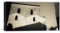 Old building, Atrani, Italy, Canvas Print