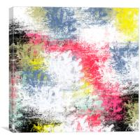 Abstract colorful pattern  , Canvas Print