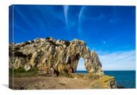 The Arch at Porth Wen, Anglesey., Canvas Print