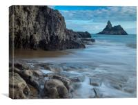 Church Rock, Broadhaven, Pembrokeshire, Canvas Print