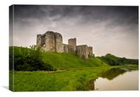 Kidwelly Castle., Canvas Print