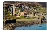 Porth Wen Brickworks, Anglesey., Canvas Print