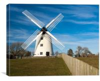 Llynnon Mill, Anglesey, Wales., Canvas Print
