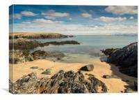 Rhoscolyn Beach, Anglesey, Wales., Canvas Print