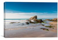 Broad Haven Beach, Pembrokeshire., Canvas Print