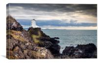 The Tower at Llanddwyn Island, Anglesey., Canvas Print