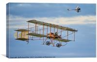 Bristol Box Kite, Canvas Print