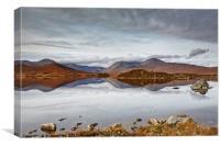 Rannoch Moor Morning, Canvas Print