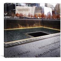 Ground Zero for Infinity, Canvas Print