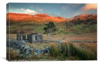 Fire Ridge Chapel, Canvas Print