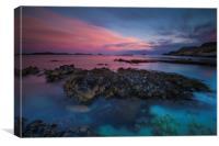 Sand eels Bay, Iona, Scotland, Canvas Print