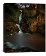 Aira Force, Lake District National Park, Cumbria U, Canvas Print