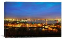 Cardiff and the Bay, Canvas Print