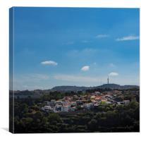 Porto Village, Canvas Print