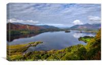 Derwent Water from Surprise View, Canvas Print