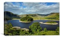 Hawes Water in Late Spring, Canvas Print