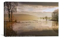 Coniston Shallows, Canvas Print