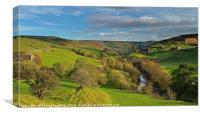 Swaledale Autumn in the Yorkshire Dales, Canvas Print
